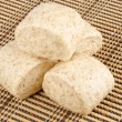 Chinese Whole Wheat Steamed Bun — Stock Photo
