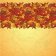 Flower paisley border — Stockvectorbeeld