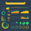 Info-graphics elements kit — Stock Vector