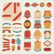Set of vector labels — Image vectorielle