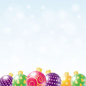 Christmas background. — Stock Vector