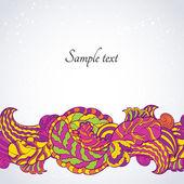 Floral Design templates elements — Stock Vector