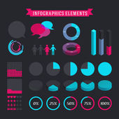 Elements for infographic — Stock Vector