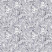 Driehoeken sjabloon achtergrond — Stockvector
