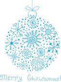 рождественский бал — Cтоковый вектор