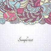 花のデザイン テンプレートの要素 — ストックベクタ
