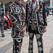 Stock Photo: Pearly Kings and Queens Harvest Festival, Guildhall London