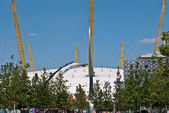 The O2 Arena in Greenwich, London opens a new roof top walk — Stock Photo