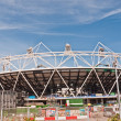 Stock Photo: Olympic Stadium under construction for the London 2012 Games.
