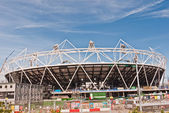 Olympic Stadium under construction for the London 2012 Games. — Stock Photo