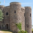 Stock Photo: The Ypres tower section of the Rye Castle in Southern UK