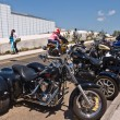 Stockfoto: Hundreds of Bikers arrive in Margate for annual Margate Meltdown event.