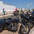 Zdjęcie stockowe: Hundreds of Bikers arrive in Margate for annual Margate Meltdown event.