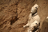 Terracotta Warriors and Horses — Stockfoto