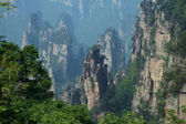 Nature landscape of Zhangjiajie — Stock Photo