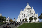 Paris Sacred Heart Church — Stock Photo
