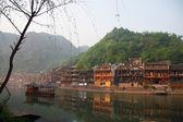 China, condado de fenghuang de hunan. — Foto de Stock
