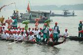 Smok łódź konkurencji — Zdjęcie stockowe