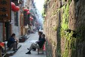 Abitudini culturali di hunan fenghuang county, cina. — Foto Stock
