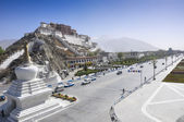 Tibet Potala Palace — Stock Photo