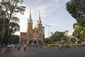 Nha Tho Duc Ba of Ho Chi Minh City — Stock Photo
