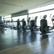 Gym room — Stock Photo