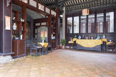 Chinese traditional interior architecture — Stock Photo