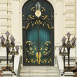 The door of Chakri Palace at the Royal Grand Palace — Photo