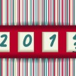 2012-2013 change — Vector de stock #13655890