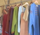 Linen handmade wear — Stock Photo