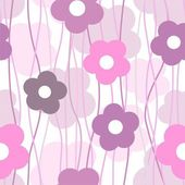 Simple stylish floral background — Stock Vector