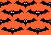 ハロウィーン バット シームレスなパターン — ストックベクタ