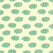 Strip clouds seamless pattern, vector illustration — Vettoriali Stock