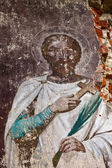 Saint in a mural — Stock Photo