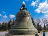 The Tsar Bell in Moscow Cremlin — Stock Photo