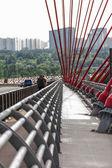 The Picturesque Bridge. Moscow — Stock Photo