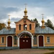 Vazheozersky holy gates of the monastery — Stock Photo