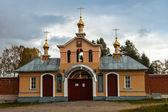 Vazheozersky holy gates of the monastery — Stock Photo