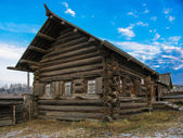 Old village house in Ural — Stock Photo