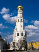At the base of the bell tower is the church of st. John Climacus. Kremlin — Stock Photo