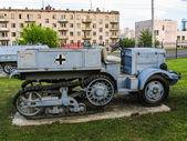 Arazi aracı. İkinci Dünya Savaşı'ndan itibaren Alman askeri araçlar — Stok fotoğraf