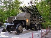 Katyusha. Soviet military equipment during World War II — Stock Photo