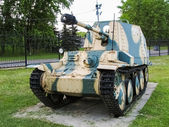 Self-propelled gun. German military vehicles from the Second World War — Stockfoto