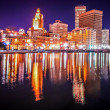 Providence reflections — Stock Photo