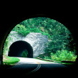 Stock Photo: Blue ridge mountains tunnels