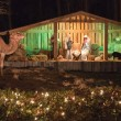 Christmas live nativity set — Stock Photo #12855432