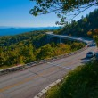 Blue ridge parkway viaduct mountain highway — Stock Photo #12855546