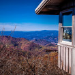 Scenic Blue Ridge Parkway Appalachians Smoky Mountains — Stock Photo