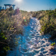Wrightsville beach morning — Stock Photo