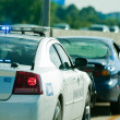 Pulled over by police — Stock Photo #14040800